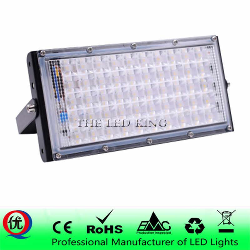 50 Вт идеальный мощность светодиодный прожектор светодиодный уличный фонарь 220 V 240 V водонепроницаемый внешний светильник IP65 светодиодный прожектор