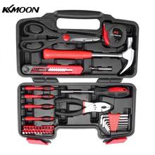 39pcs Professional Household Hand Tool Car Maintenance Tools Kit With Plastic Toolbox Storage Case цены