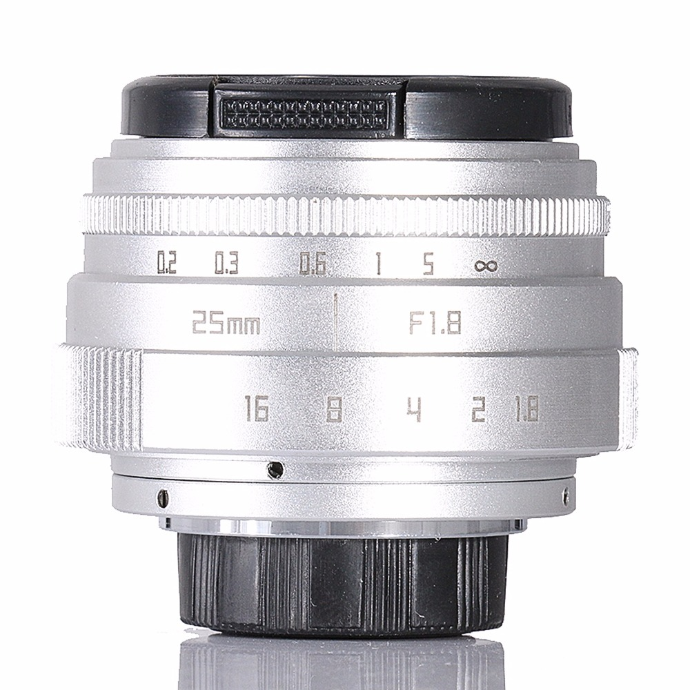 FUJIAN 25mm f1.8 C mount CCTV camera Lens II Mini APS-C Television TV Lens/CCTV Lens Suit For 16mm C Mount Camera