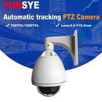 PTZ CAMERA 36X Autotracking high Speed Dome 1/3'' SONY CCD 700TVL Outdoor High Speed Dome Camera PTZ autotracking Camera