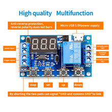 6-30V Relay Module Switch Trigger Time Delay Circuit Timer C