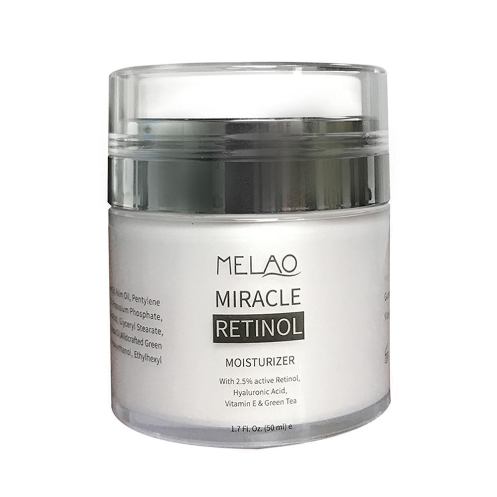 3ad5f0c28b14 MELAO 2.5% Retinol Moisturizer Cream Hyaluronic Acid Anti Aging And ...