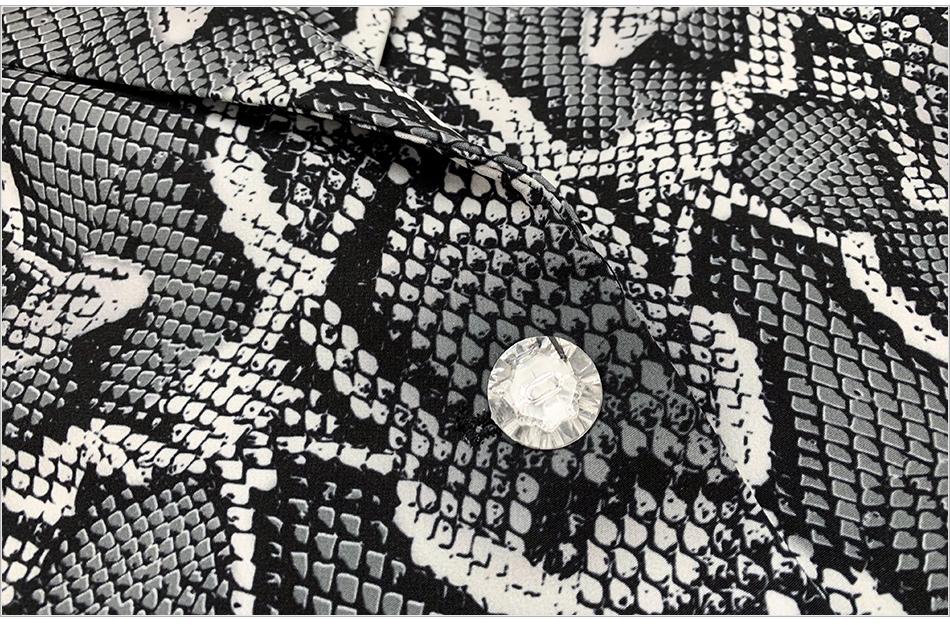 Kylie Jenner Snake-Print Pants Suit Designer Quality Two-Button Snakeskin Cotton Twill Peak Lapel Jacket Skinny Pants 2 Piece Set - kylie-jenner-outfits
