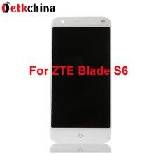 Для ZTE Blade S6 ЖК-экран Высокое качество ЖК-дисплей + Сенсорный экран 1280×720 HD 5.0 дюйма Замена для ZTE Лезвие S6 телефона