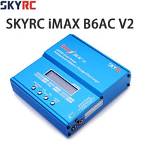 Original SKYRC iMAX B6AC V2 Charger 50W Lipo Battery Balance Charger RC Car Drone Helicopter Quadcopter Drone Battery Charger