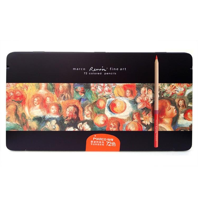 Marco 3100 72&100 Colored Pencils-1
