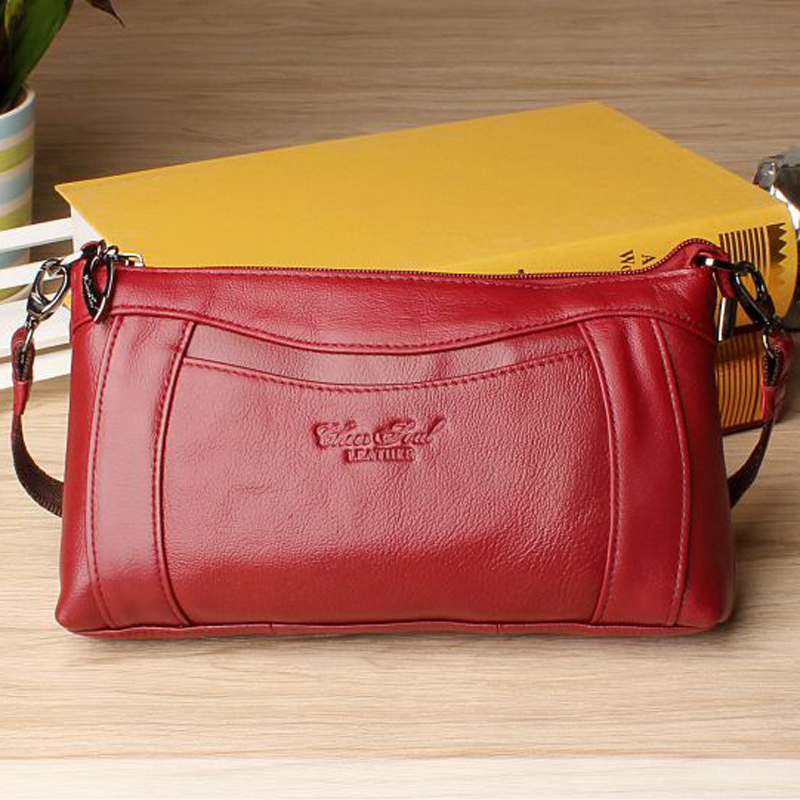Genuine leather women messenger bags with high quality fashion female shopping travel shoulder bags cowhide lady handbags 2015 2017 hot selling high quality genuine leather women messenger bags female day clutches with hand rope fashion crossbody bags