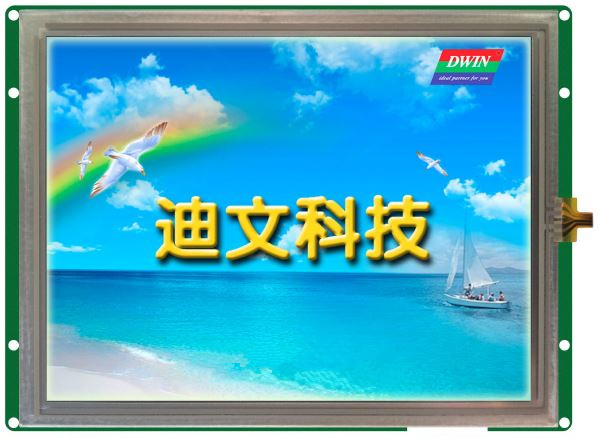 DMT10768K080_03W 8 - inch industrial serial screen high - definition industrial LCD screen полотенцесушитель domoterm dmt 109 т5