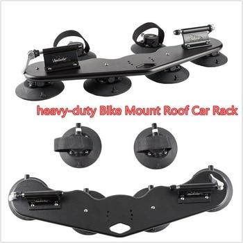 Universial 2-Bike Bicycle Black   Rack Carrier Car Mount Roof Top Metal Car Racks
