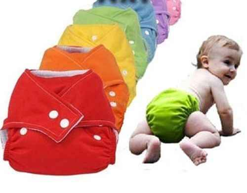 1 Size For All Cloth Nappy Waterproof Baby Diaper Washable Reusable Nappies Grid Training Pant Cloth Diaper Baby Fraldas Diapers