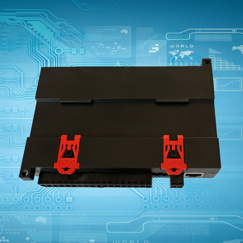 Image 4 - 8DO relay output 8DI switch input RJ45 port TCP Ethernet IO module Modbus controller-in Integrated Circuits from Electronic Components & Supplies