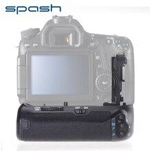Spash многофункциональная Вертикальная Батарейная ручка для камеры Canon EOS 70D 80D, сменный BG-E14, профессиональный держатель для батареи, работает с LP-E6