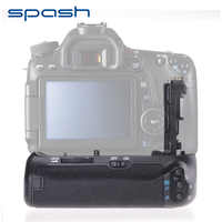 spash Multi-power Vertical Battery Grip for Canon EOS 70D 80D Camera Replace BG-E14 Professional Battery Holder Work with LP-E6