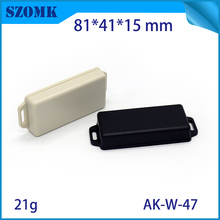 1  piece free shipping box electric 81*41*15 mm 3.2*1.6*0.59 inch wall mount plastic din enclosure