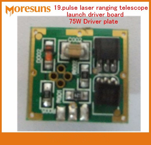 Fast Free Ship 19.pulse laser ranging telescope launch driver board 75W Driver plate circuit board,launch module