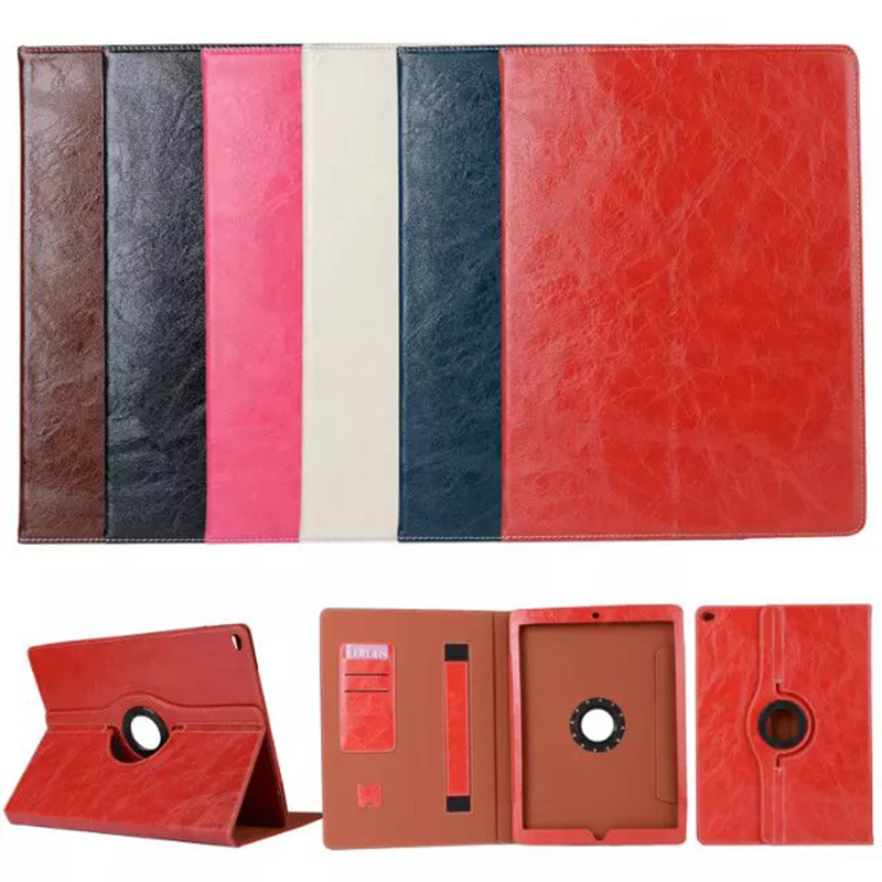 IDOOLS Genuine Leather case For funda iPad Pro 12.9 Case With Stand and Card Slot Protective laptop bag For iPad Pro 12.9 Cover