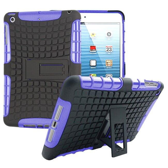 Za Apple iPad mini 1 2 3 ovitek za težke oklepe Hibridno stojalo za - Dodatki za tablične računalnike - Fotografija 3