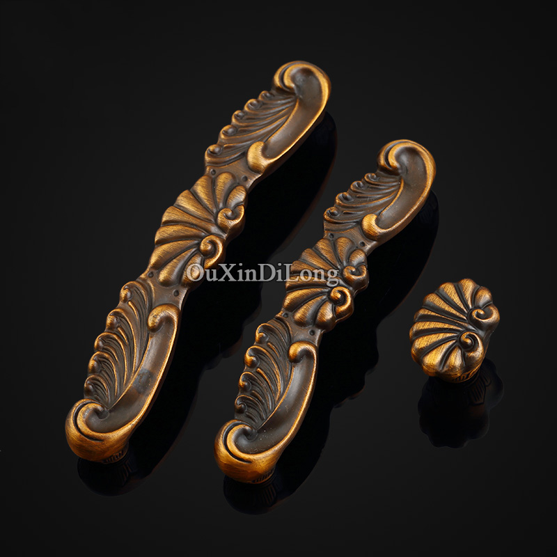 Top Designed 8PCS European Antique Kitchen Door Furniture Handles Cupboard Drawer Wardrobe Shoe Cabinet Pulls Handles and Knobs top designed 10pcs european antique kitchen door furniture handles cupboard wardrobe drawer wine cabinet pulls handles and knobs