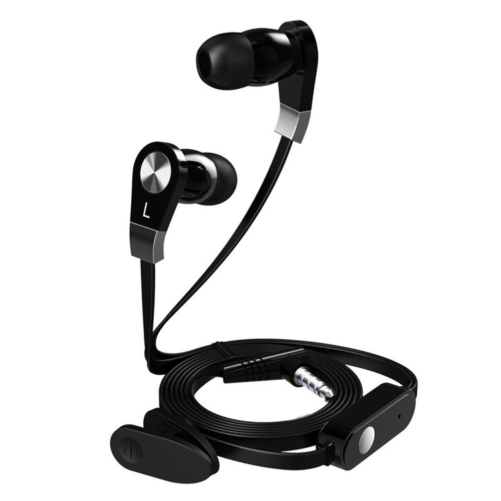 Langsdom Mini Earphone JM02 Portable Wired Stereo Earbuds Super In-ear 3.5mm Earphones JM21 Bass Audifonos Fones With Microphone