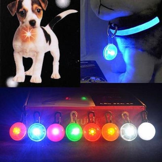 Cani LED Lampeggiante Glow Collari Prodotti HA CONDOTTO LA Luce Luminou Collari