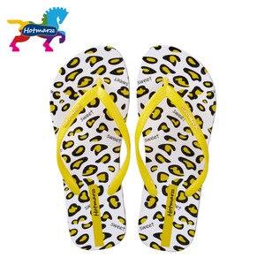 Image 3 - Suojialun kobiety sandały lato projektant klapki japonki płaskie Leopard Print plaża buty damskie Spa joga slajdy