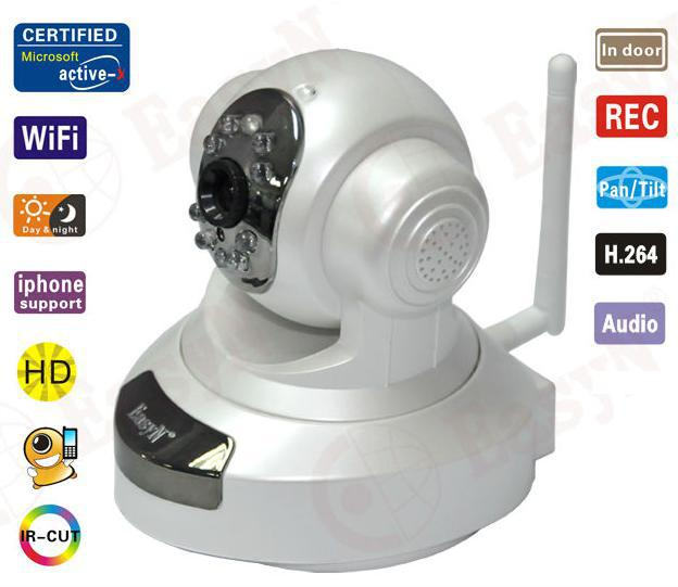 EasyN robot wireless H3-186V SD card 1.0 Megapixel ip camera ,wireless camera ,cctv camera ,baby monitor Scurity Camera