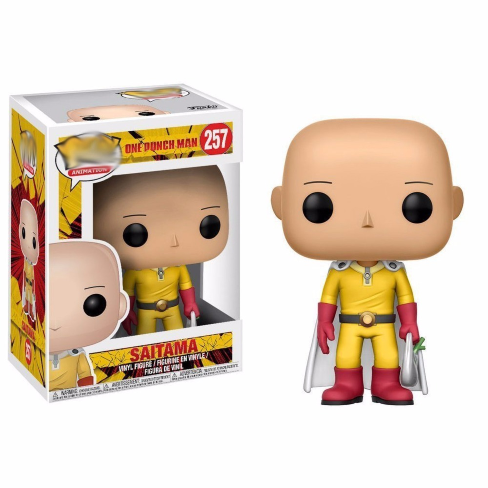 Action ONE PUNCH-MAN 10cm PVC Anime Models Saitama Action Figure Toys Kids Gift Collectables One Punch Man Cosplay Decor Saitama