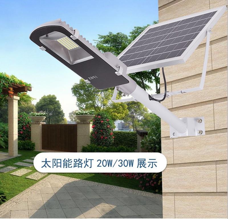 8pcs Remote Control 10W 20W 30W 50W Solar Panel Street Light Solar Sensor Lighting Outdoor Path Wall Emergency Lamp цена