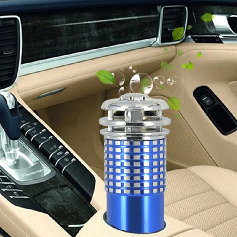 Mini Auto Car Fresh Air Anion Ionic Oxygen Bar Vehicle Air Purifier Ozone Ionizer Interior Accessories Car Electrical Appliances