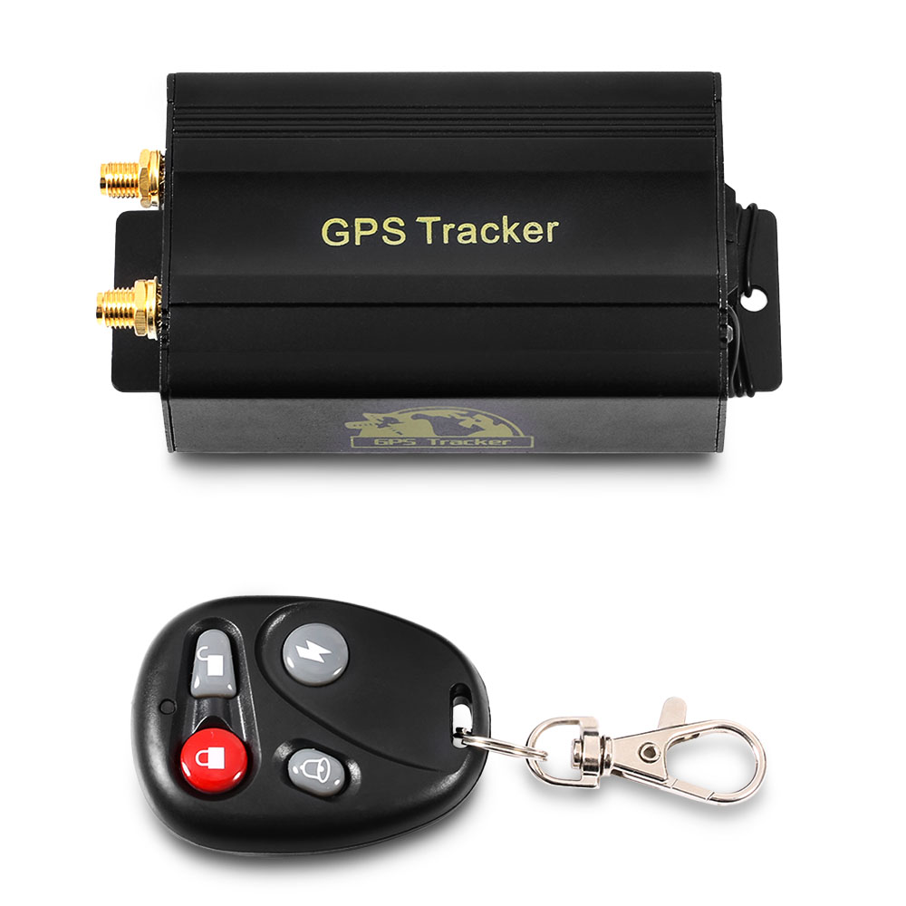 TK103B voiture GPS Tracker véhicule Anti-vol alarme Mini localisateur de suivi en temps réel