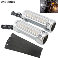 Motorcycle Highway Bar Switchback Driving Light Turn Signal Light White Amber LED Crash Bars For Victory Harley Touring Softail