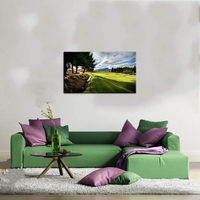 Modern Golf Course Painting Canvas Wall Art Posters Bule Sky Landscape HD Prints Picture Decoration Living Room Artwork Dropship