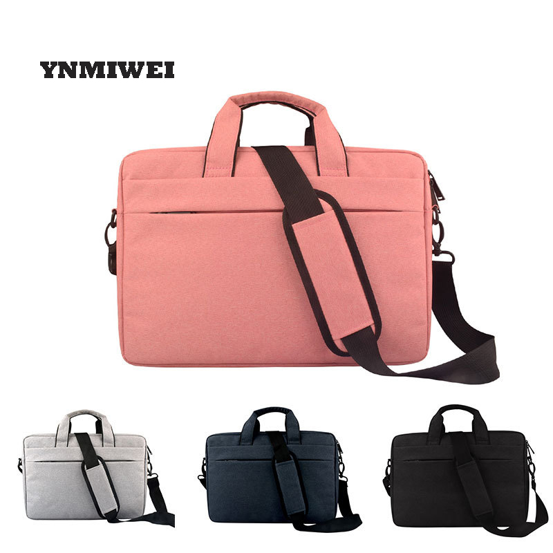 For Macbook Air 13 Case Pro 15 Bag Daily Waterproof Polyester Laptop Briefcase Handbag Notebook Bag
