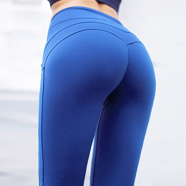 NORMOV Fitness Leggings Women High Waist Workout Push Up Leggins Casual Women Pants Mujer Patchwork Leggings Plus Size Feminina