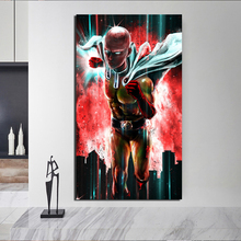 One Punch Man Anime Cartoon Canvas Painting Prints Living Room Home Decoration Modern Wall Art Oil Painting Posters Pictures HD цена