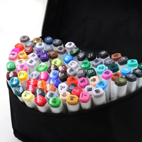 Hot Selling Full 168 Colors Art Marker Set Oily Alcoholic Dual Headed Artist Sketch Copic Markers