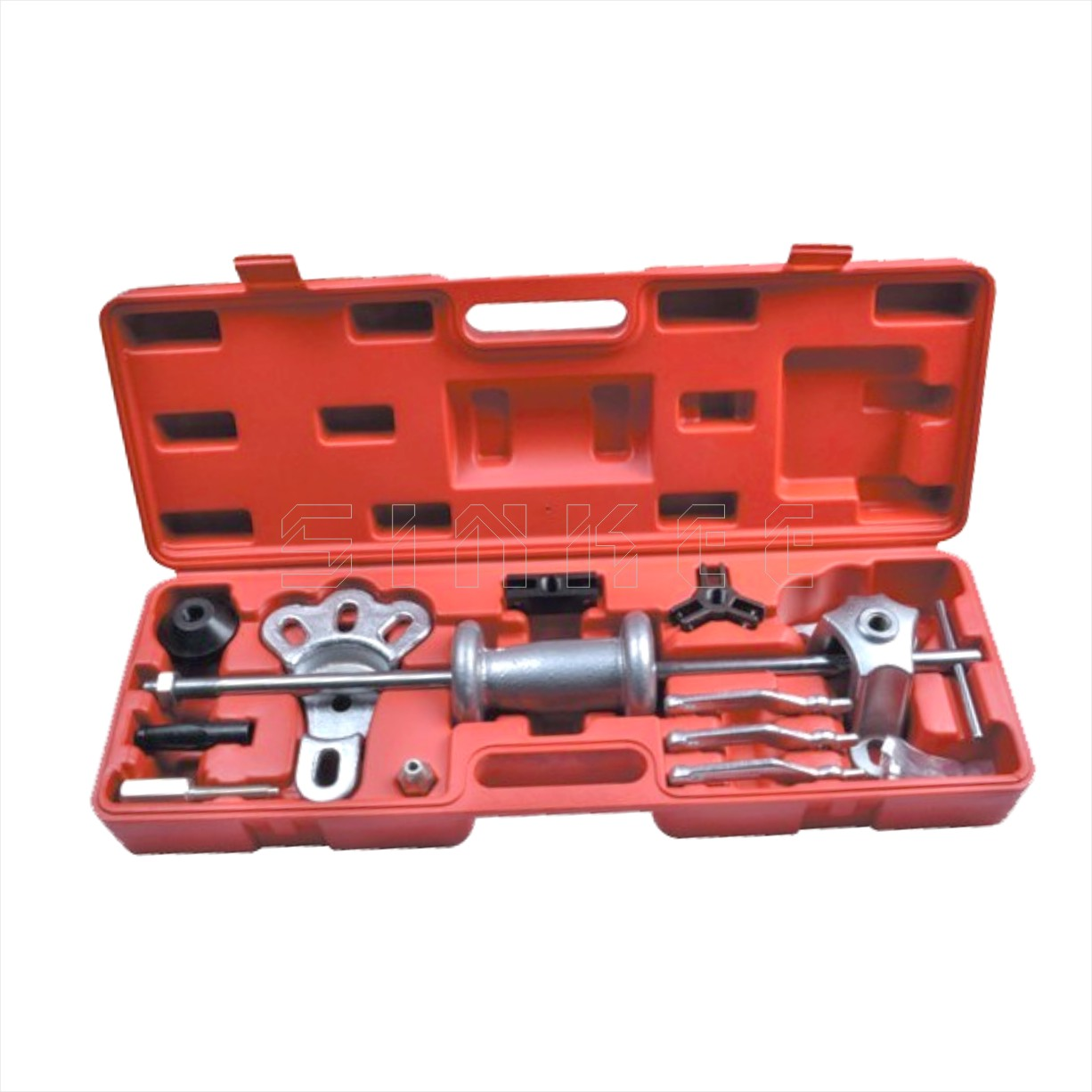 Axles Slide Hammer Puller Set 2/3 Jaw Internal/External Puller Bearing Remover Tool Set SK1152 winmax 6 gear puller 3 jaw set gear pulley bearing puller auto tool