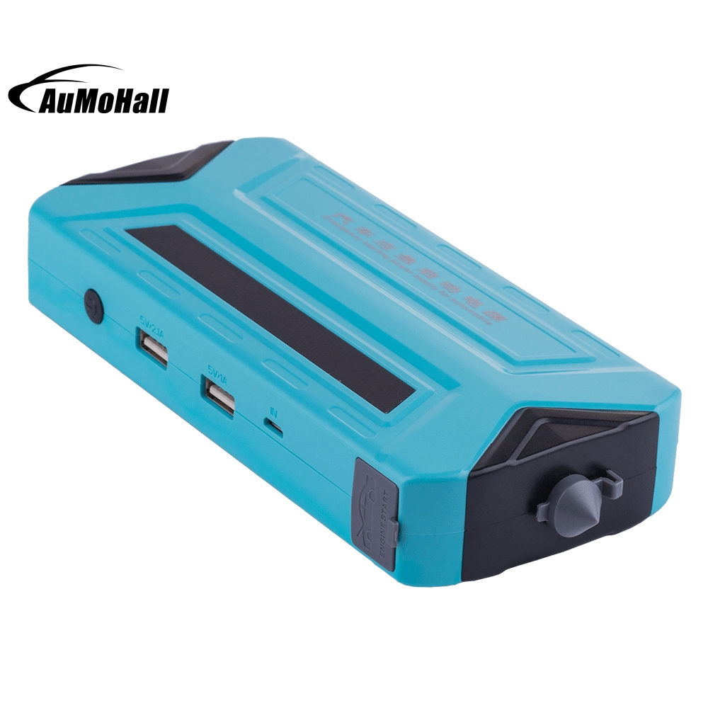 1 Set Blue 50800mAh Power Bank Booster Mini Battery Charger Car Jump Starter Auto-Emergency Multi-Function Drop Shipping 12v 20000mah multi function car jump starter power bank emergency charger booster battery