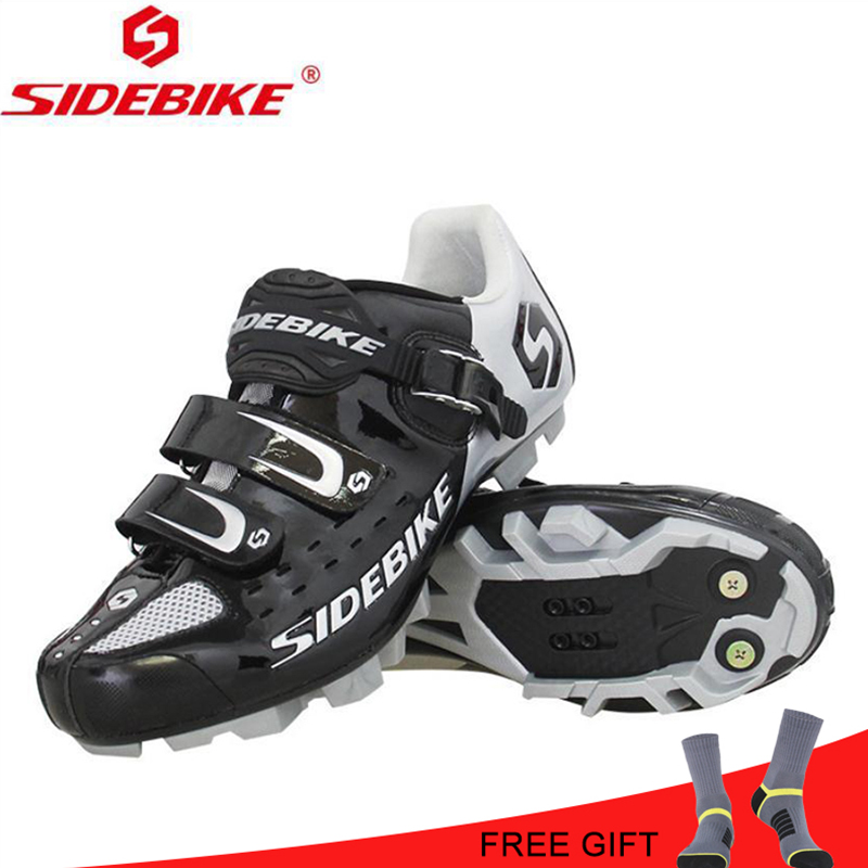 SIDEBIKE MTB Cycling Sports Shoes Self Lock Shoes Mountain Bicycle Shoes Bike MTB Bike Shoes Sapatilha