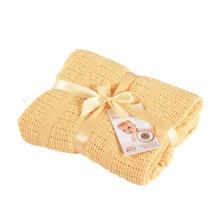 100*140cm Baby Swaddle Blankets Solid Soft Cotton Knitting Blanket Newborn Towel Receiving Swaddling Stuff