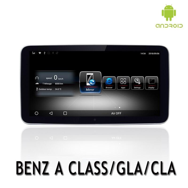 NVTECH Android Multimedia Navigation GPS BT For Mecerdes Benz CLASS A/CLA/GLA Radio Dashboard DVD Player 9.33 3G+32G 2013 2015