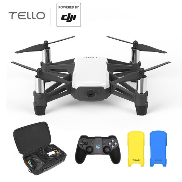 US $97 76 21% OFF RYZE DJI Tello 720 P HD transmisji pilot zdalnego  sterowania APP składane zabawki FPV RC Quadcopter drony z EZ strzałów w  RYZE DJI