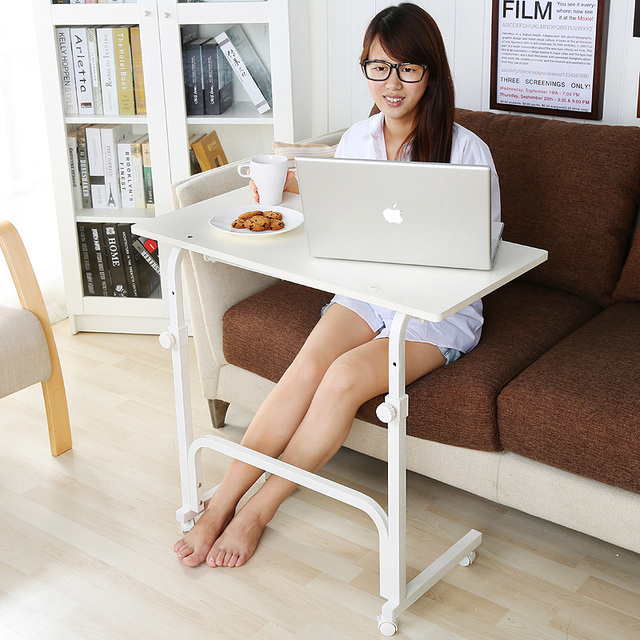 Chao Soil Lazy Movable Lift Laptop Desk Bed Sofa With A Study Tables Side Table