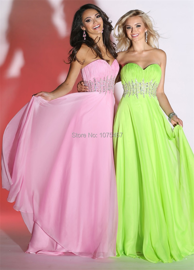 Lime Green Party Dress Promotion-Shop for Promotional Lime Green ...