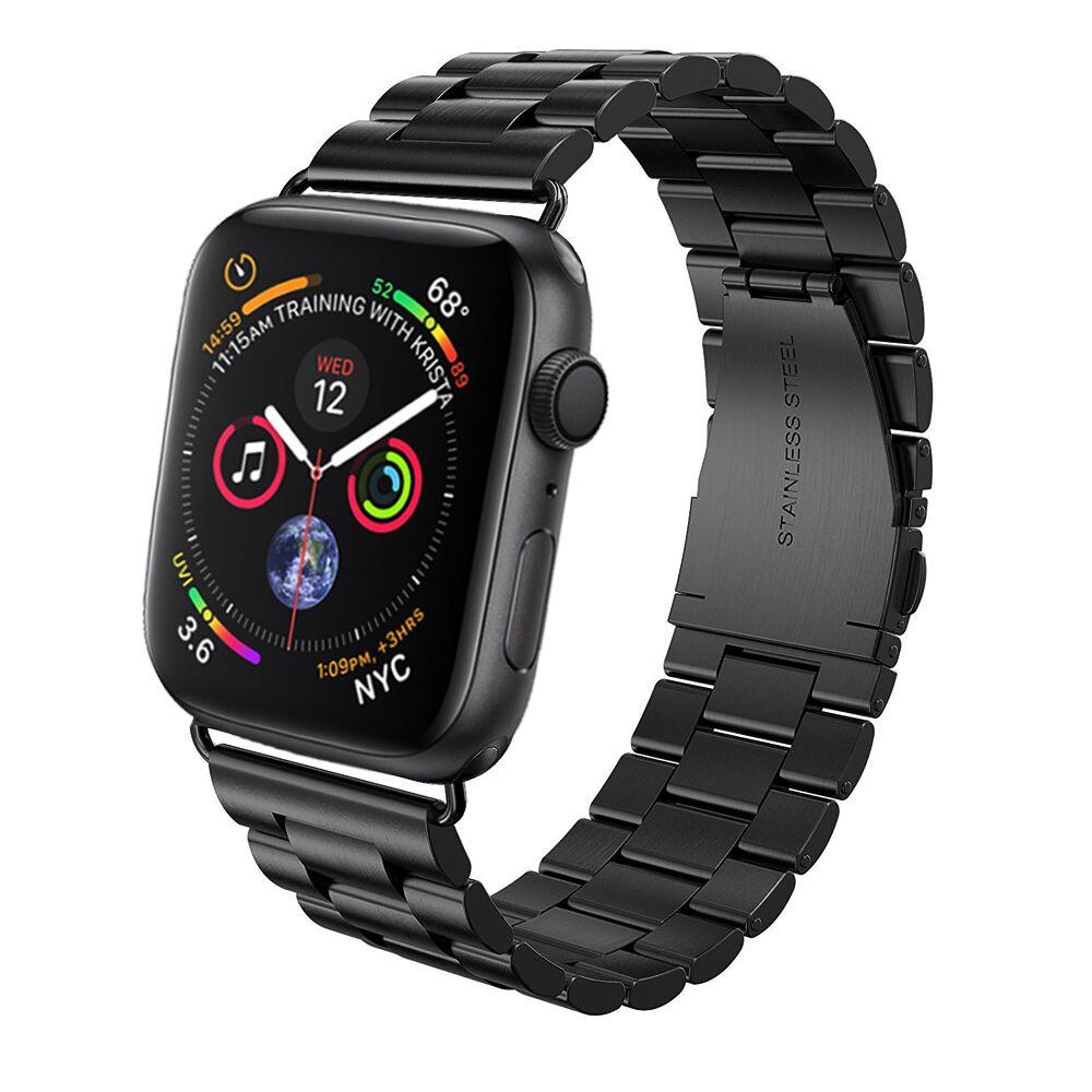 купить Lerxiuer Stainless steel strap For Apple watch band 42mm 38mm 40mm 44mm iwatch series 4/3/2/1 Link bracelet wrist belt Watchband по цене 589.82 рублей