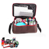 Camping lunch basket picnic bags portable food storage handbags for outdoor camping hiking family party