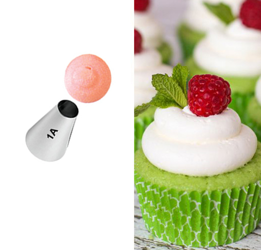 #1A Round Flat Decorating Tips Cake Decorating Tips ...