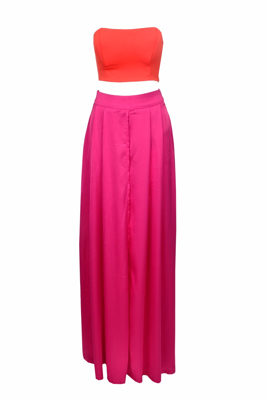 Rode jurk xs