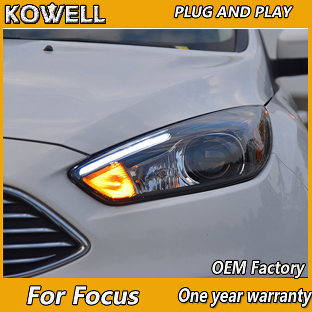 Kowell Car Styling For Ford Focus 3 Led Headlight 2017 2016 St Style