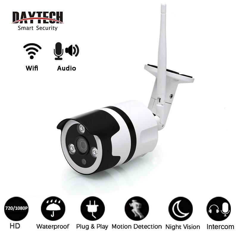 DAYTECH 1080P Surveillance Camera CCTV Security Network Monitor Audio Wireless IP Camera WiFi P2P Waterproof Indoor Outdoor